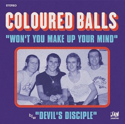 COLOURED BALLS... - WON'T YOU MAKE UP...