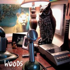 WOODS... - AT REAR HOUSE...