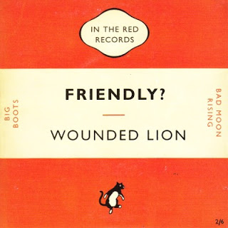 WOUNDED LION... - FRIENDLY...