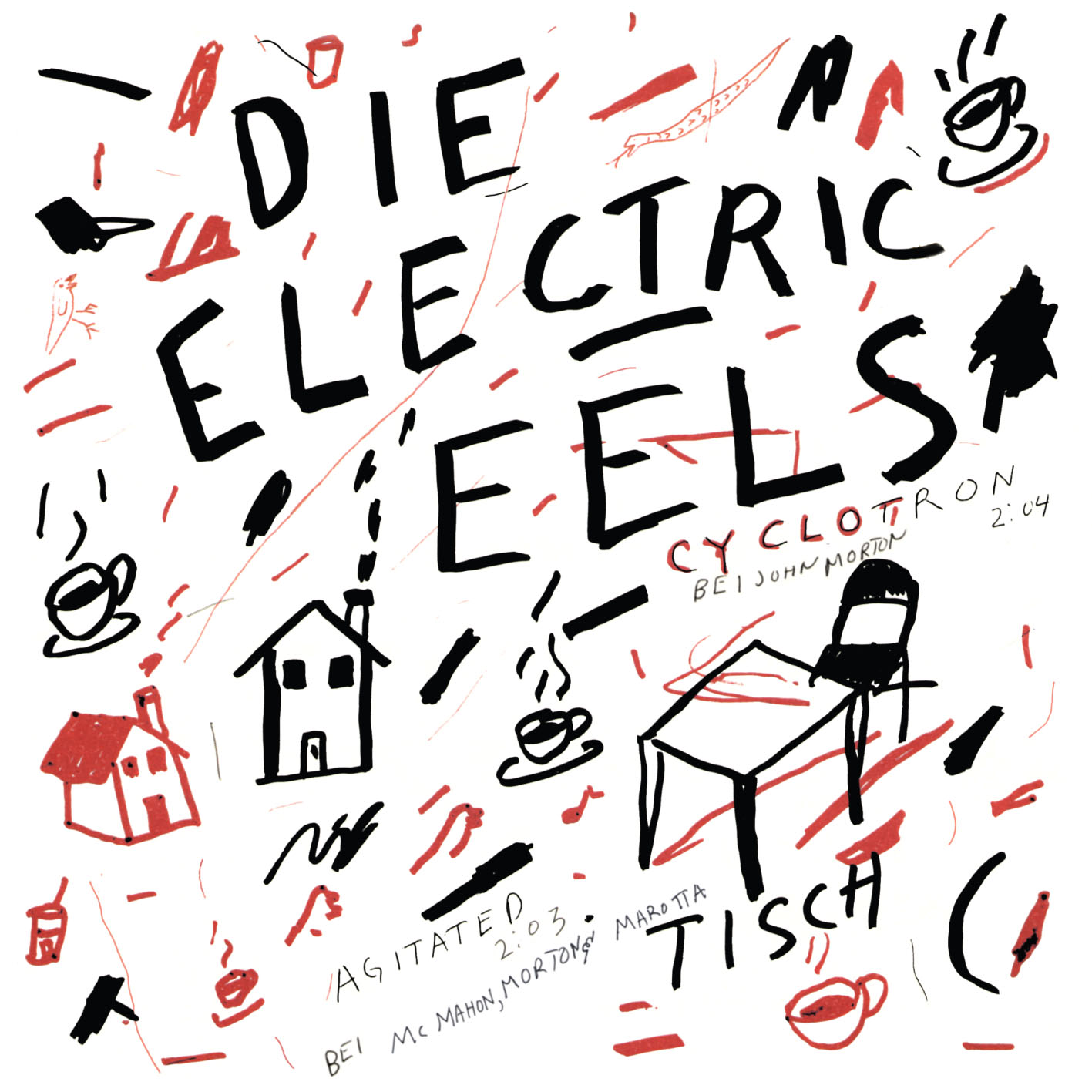 ELECTRIC EELS... - (I'M SO) AGITATED /...
