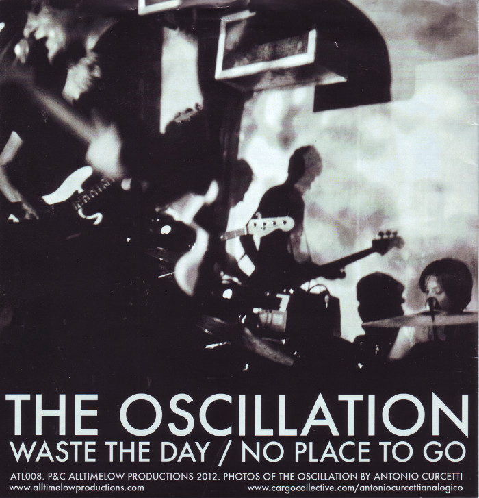OSCILLATION, THE... - NO PLACE TO GO...