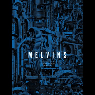 MELVINS... - LIVE AT THIRD MAN...