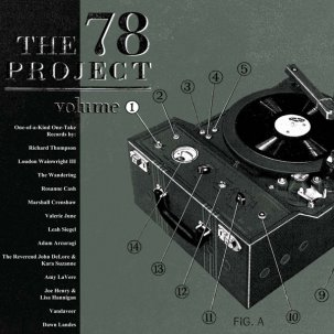 VARIOUS... - THE 78 PROJECT VOL:1...