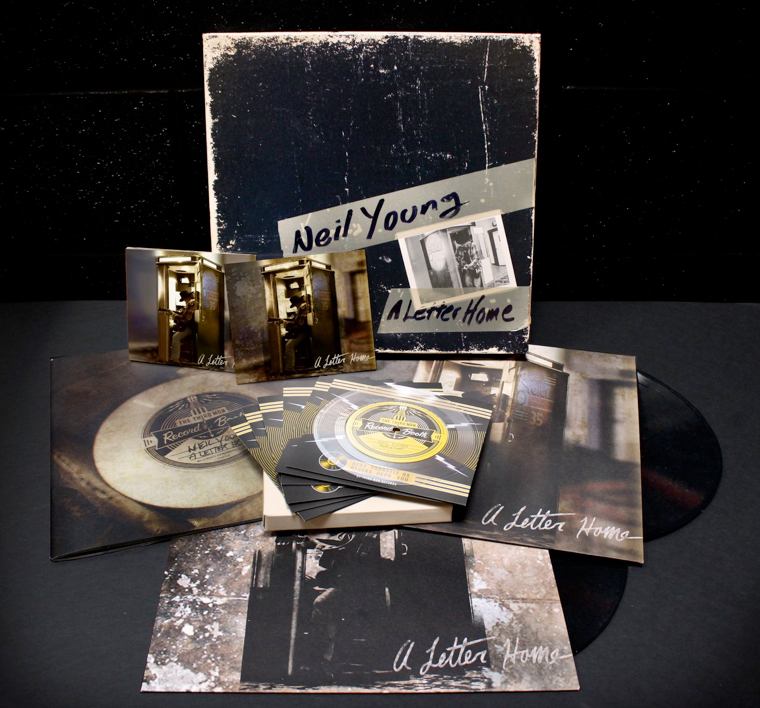 NEIL YOUNG... - A LETTER HOME (BOXSET)...