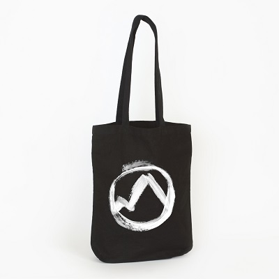 ERASED TAPES COLLECTION... - BLACK TOTE BAG...