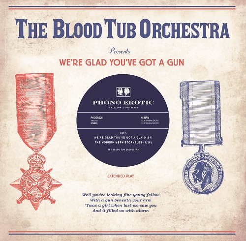 THE BLOOD TUB ORCHESTRA... - WE'RE GLAD YOU'VE GOT...