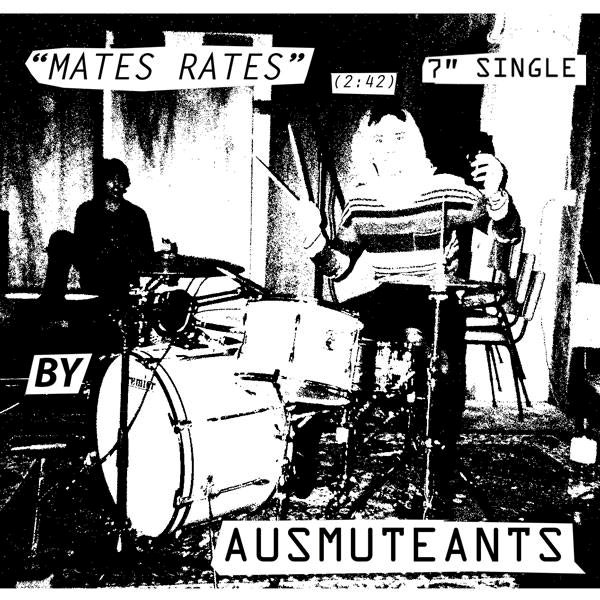 AUSMUTEANTS... - MATES RATES B/W ECHO...